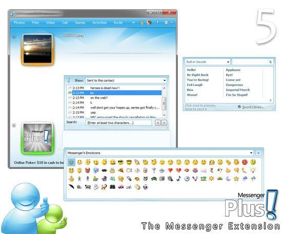 Vorschau Messenger Plus Live - Bild 3
