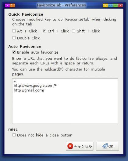 Vorschau FaviconizeTab for Firefox - Bild 3
