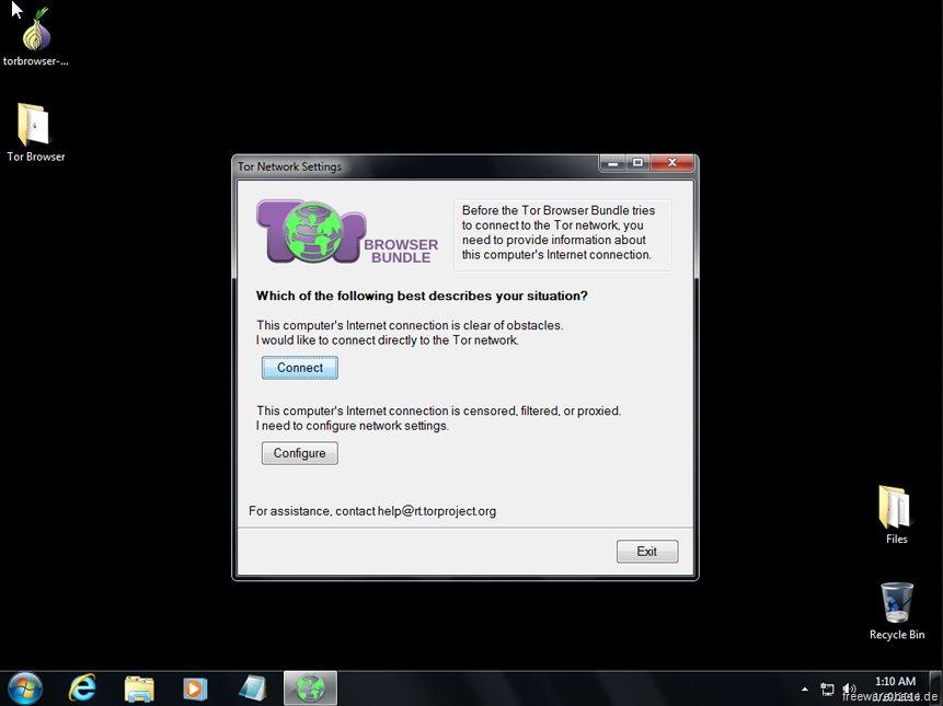 Vorschau Tor-Browser-Paket - Bild 3