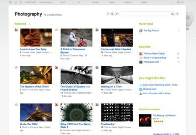 Vorschau Feedly for Google Chrome - Bild 3