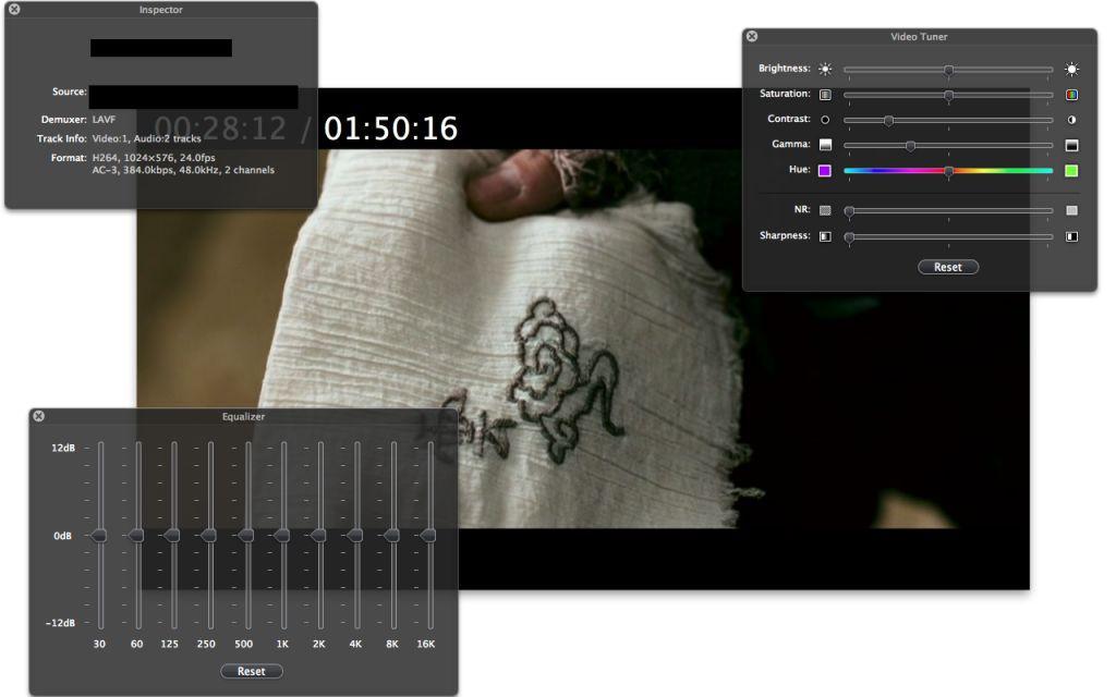 Vorschau MPlayerX for Mac - Bild 3
