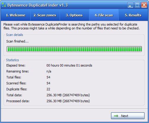 Vorschau Bytessence DuplicateFinder and Portable - Bild 3