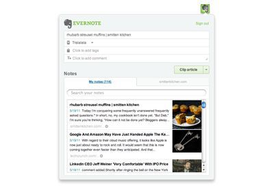 Vorschau Evernote Web Clipper for Chrome - Bild 3