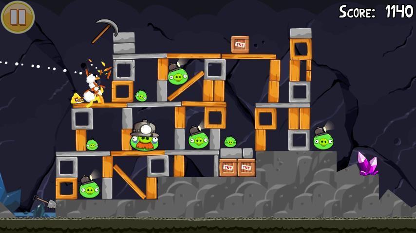 Vorschau Angry Birds Seasons - Android App - Bild 3