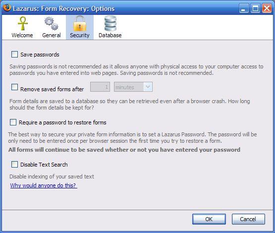 Vorschau Lazarus Form Recovery for Firefox - Bild 3