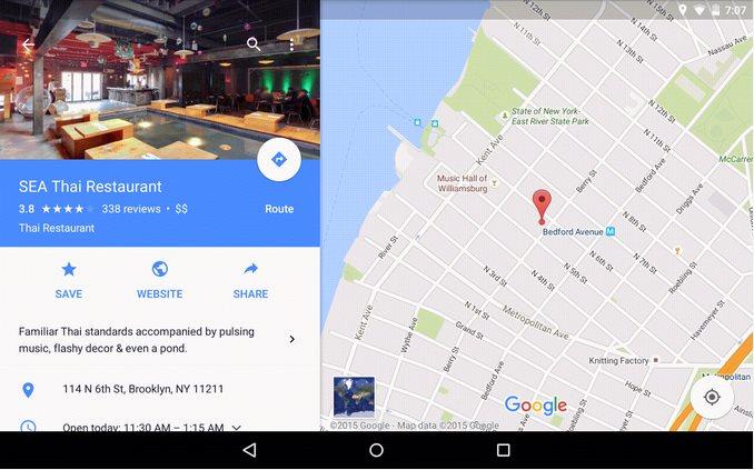 Vorschau Google Maps for Android - Bild 3