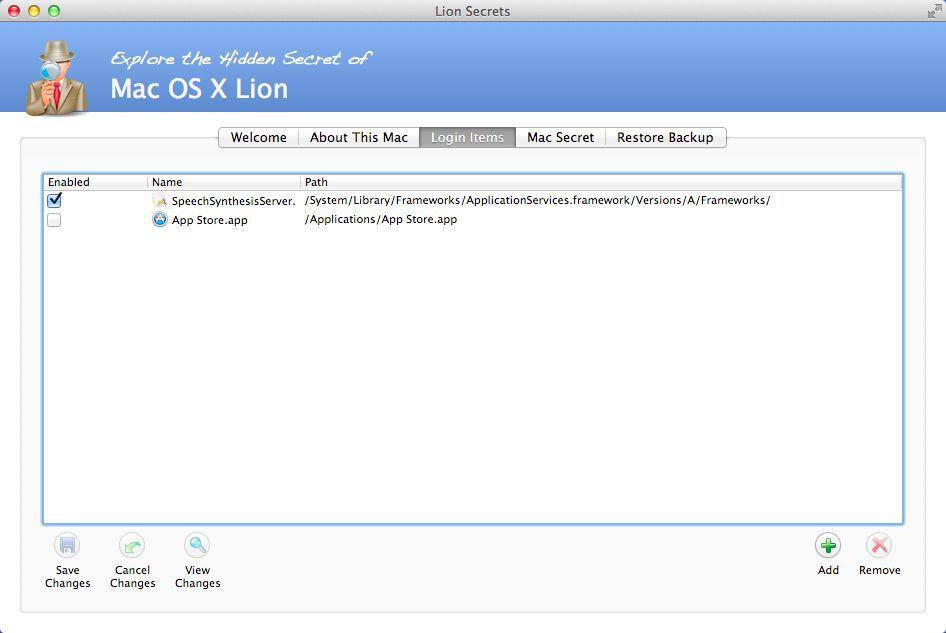 Vorschau Lion Secrets for Mac - Bild 3