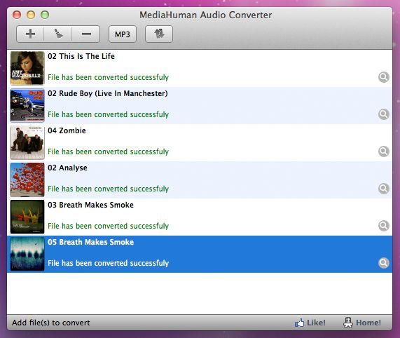 Vorschau MediaHuman Free Audio Converter - Bild 3