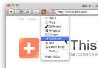 Vorschau Addthis for Firefox Browser - Bild 3