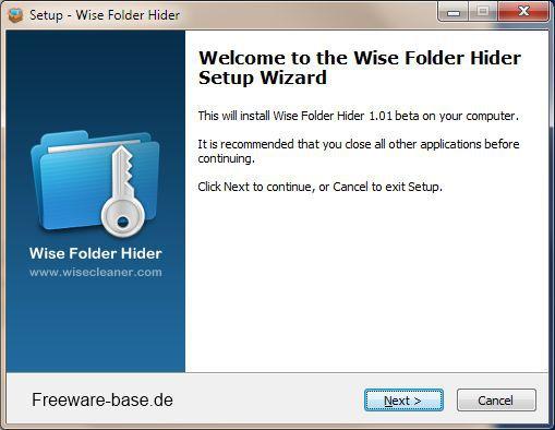 Vorschau Wise Folder Hider - Bild 3