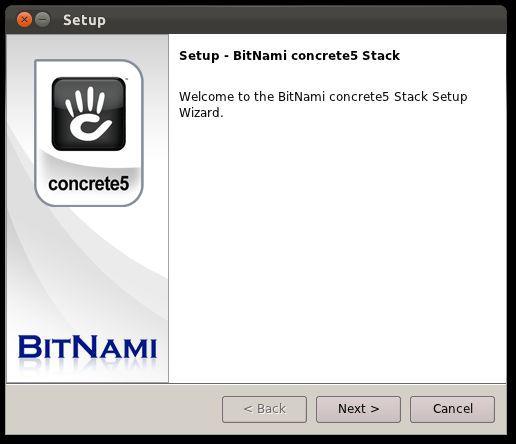 Vorschau BitNami concrete5 CMS Stack - Bild 3