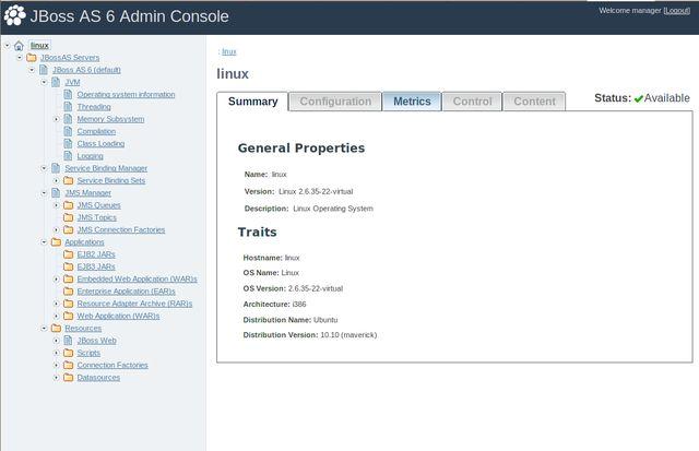 Vorschau BitNami JBoss Stack - Bild 3