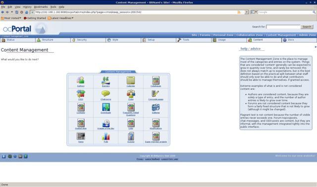 Vorschau Bitnami ocPortal Stack - Bild 3
