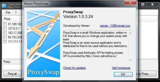 Vorschau ProxySwap - Bild 3