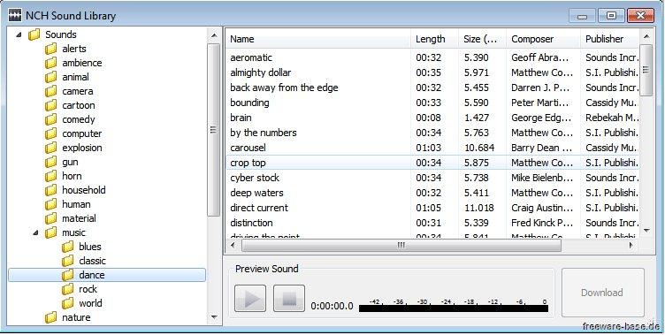 Vorschau Wavepad Kostenloser Audio-Editor Mac - Bild 3