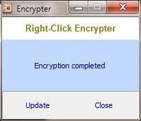 Vorschau Right-Click Encrypter - Bild 3