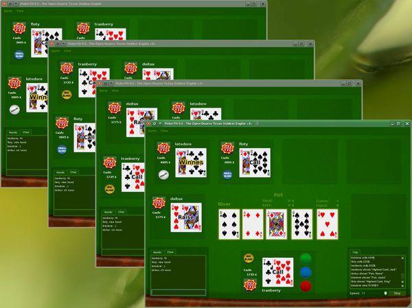 Vorschau PokerTH for Linux - Bild 3