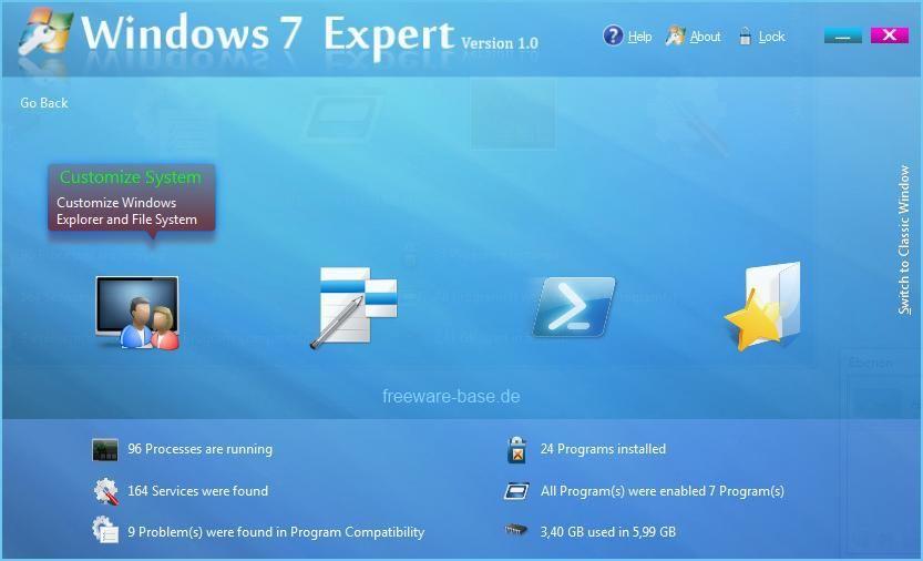 Vorschau Windows 7 Expert - Bild 3