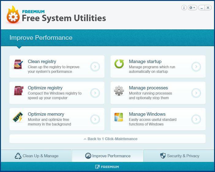Vorschau Free System Utilities - Bild 3