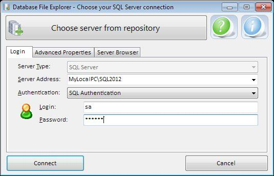 Vorschau Database File Explorer - Bild 3