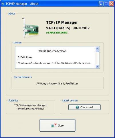 Vorschau TCP IP Manager - Bild 3