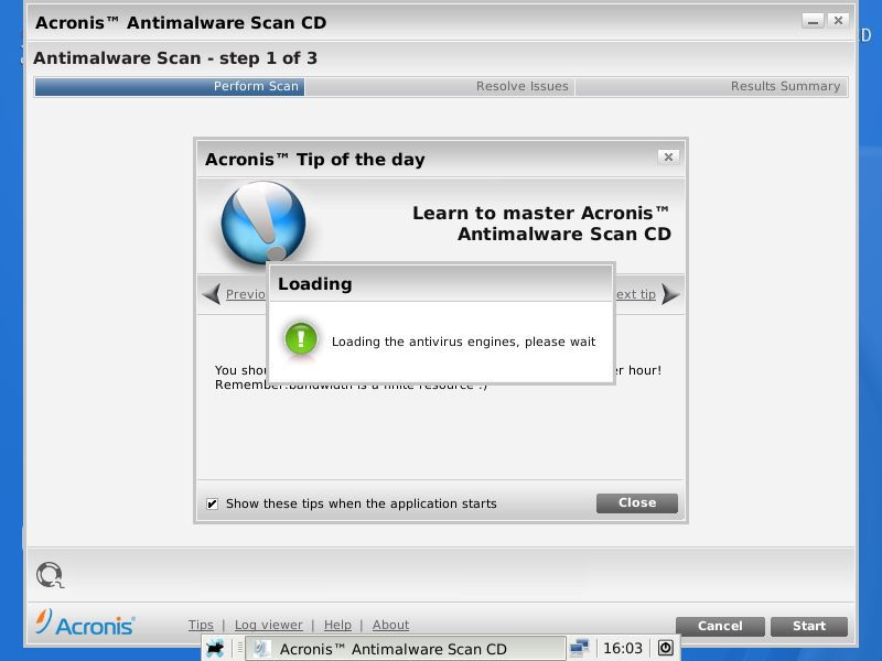 Vorschau Acronis Antimalware CD - Bild 3