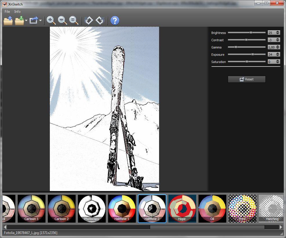 Vorschau XnSketch for Linux - Bild 3