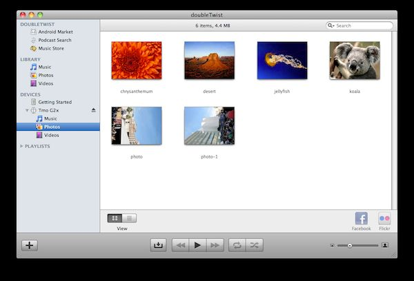 Vorschau doubleTwist for Mac - Bild 3