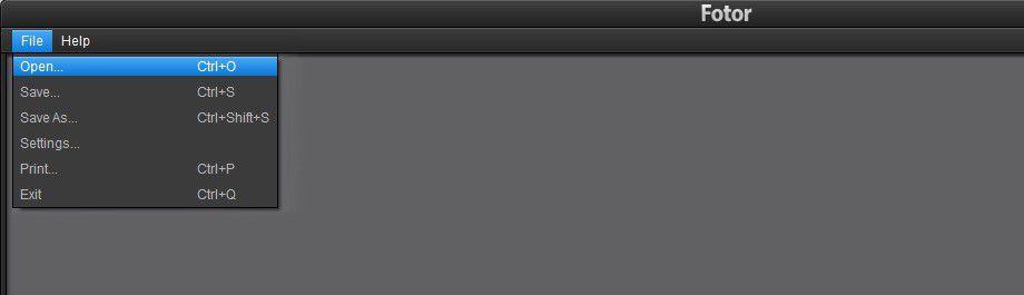 Vorschau Fotor-Photo Editor for Windows - Bild 3