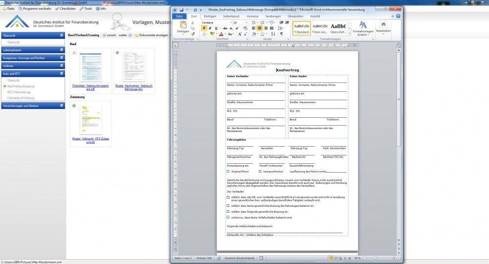 Vorschau Vorlagen, Musterschreiben und Checklisten 2013-14 - Bild 3