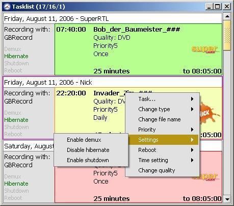 Vorschau WinTVCap GUI - Bild 3