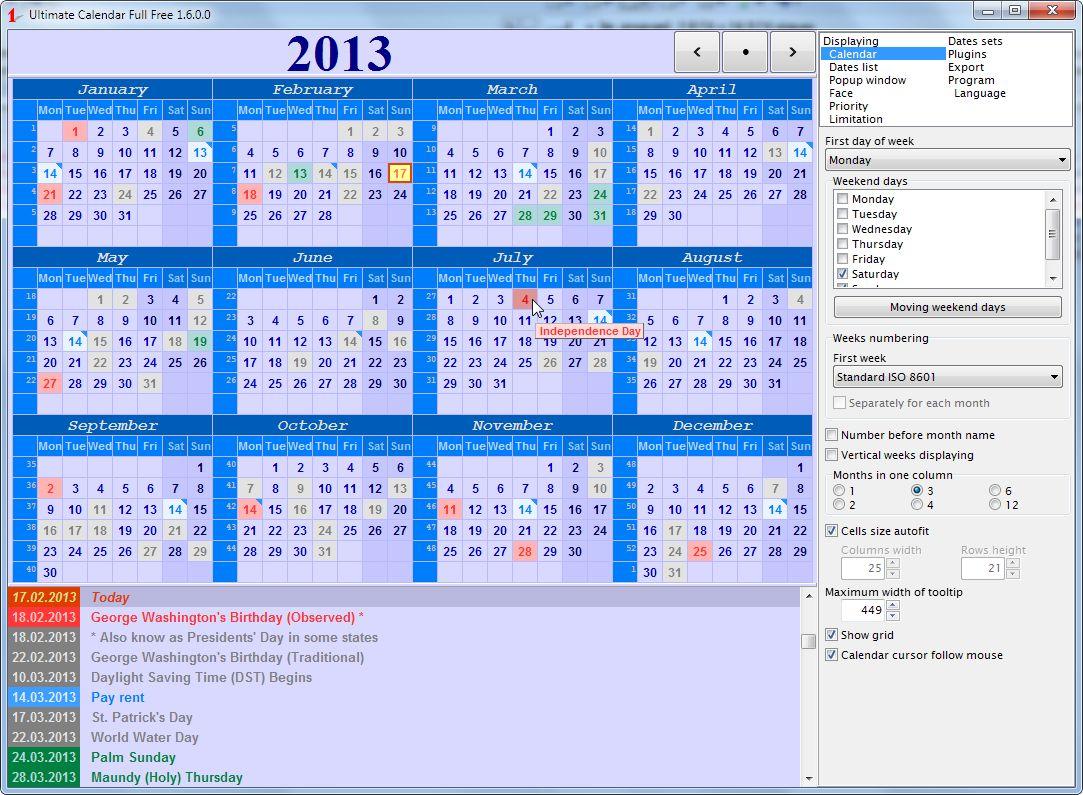 Vorschau Ultimate Calendar - Bild 3