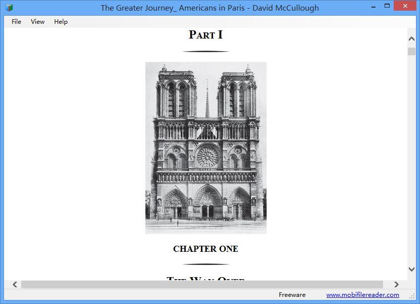 Vorschau Mobi File Reader - Bild 3