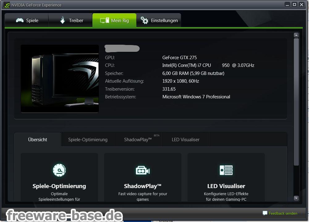 Vorschau NVIDIA GeForce Experience - Bild 3