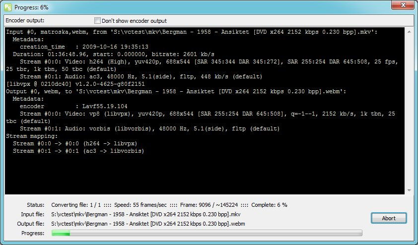 Vorschau Pazera WebM Converter - Bild 3