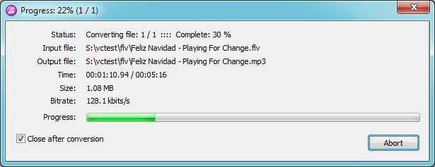 Vorschau Pazera Free FLV to MP3 Converter - Bild 3
