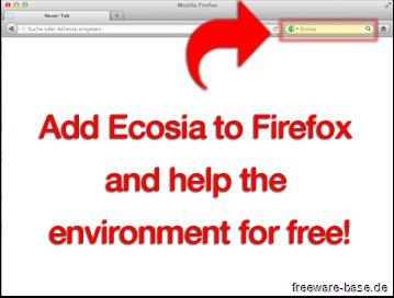 Vorschau Ecosia für Firefox - Bild 3