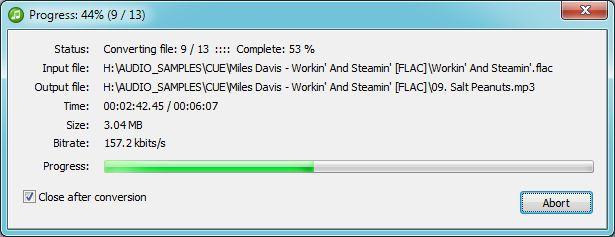 Vorschau Pazera FLAC to MP3 - Bild 3