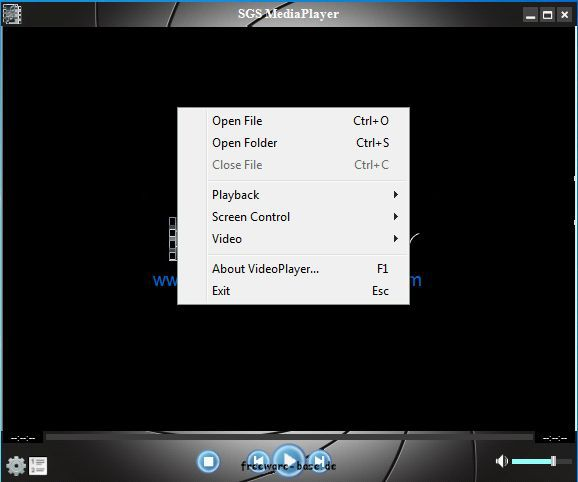 Vorschau SGS VideoPlayer Free - Bild 3