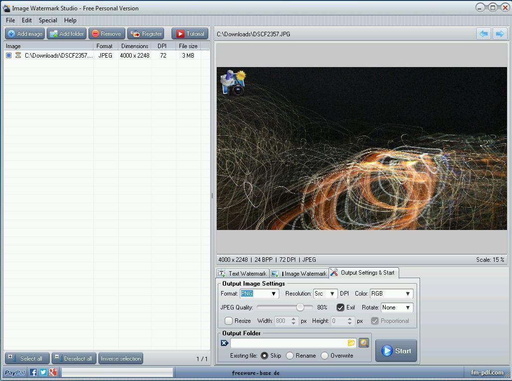 Vorschau Image Watermark Studio - Bild 3