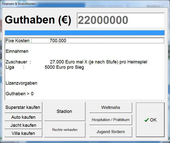 Vorschau Mini-Manager - Der Fussball-Manager - Bild 3