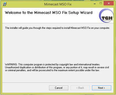 Vorschau Mimecast MSO Fix - Bild 3