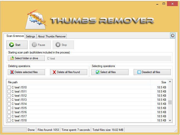 Vorschau Thumbs Remover - Bild 3