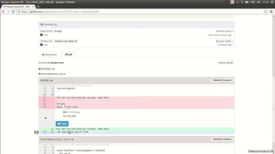 Vorschau Bitnami GitLab für Linux - Bild 3