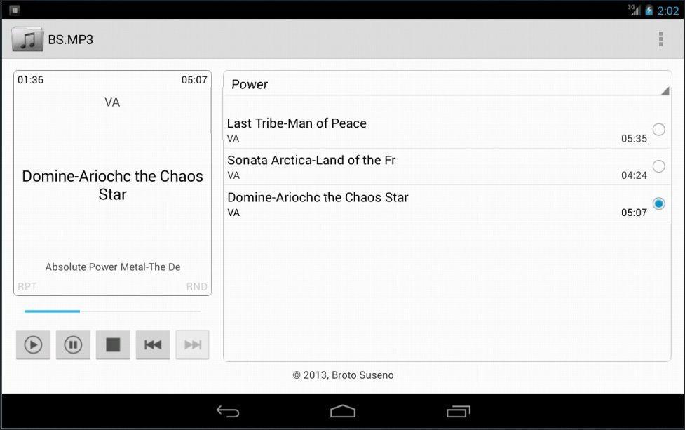 Vorschau BS.MP3 for Android - Bild 3