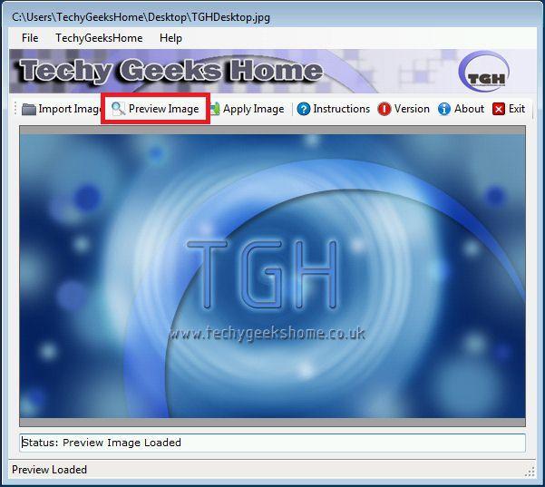Vorschau Windows 7 Lock Screen Changer - Bild 3