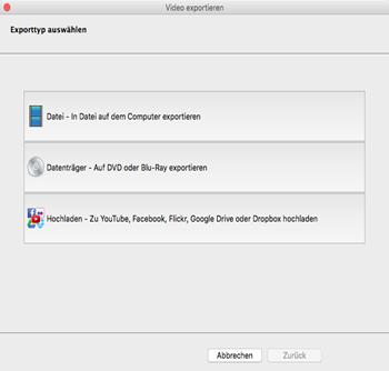 Vorschau VideoPad Video-Editor Kostenlos Mac OS X - Bild 3