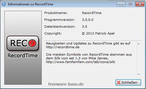 Vorschau RecordTime Arbeitszeiterfassung - Bild 3