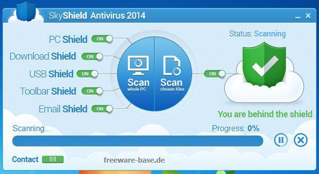 Vorschau SkyShield Antivirus - Bild 3