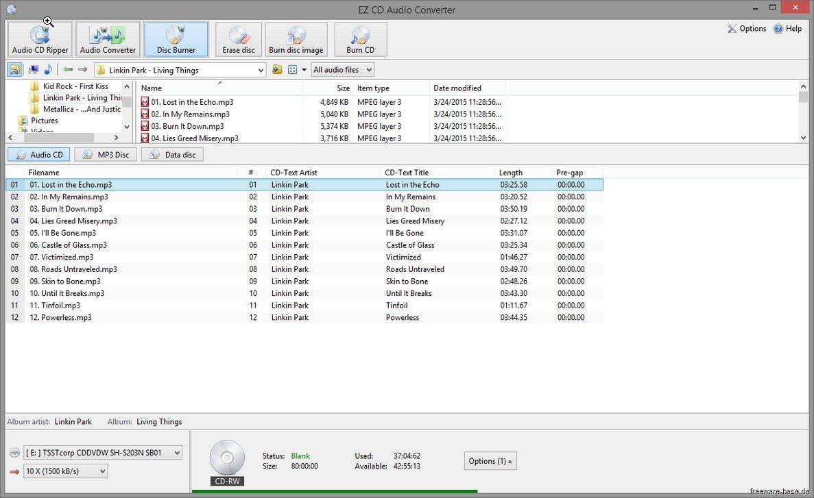 Vorschau EZ CD Audio Converter Free - Bild 3